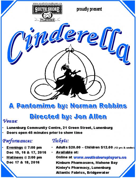 Cinderella – A Pantomime